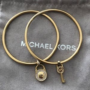 Michael Kors Bangle Bracelet Set